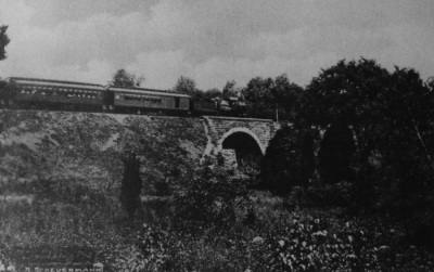 Chatham-Summit railroad bridge, c. 1916