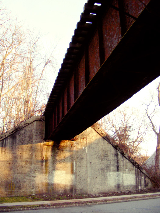 Rahway Valley Railroad: Ashwood Avenue overpass, b.1915