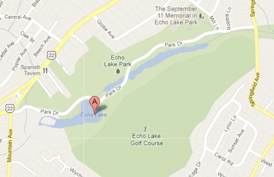 Google Maps: Echo Lake