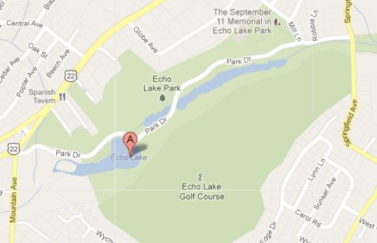 Google Maps: Echo Lake