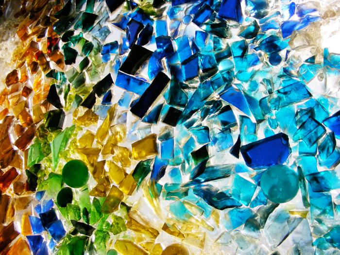 Pretty glass in the Springfield Public Library!