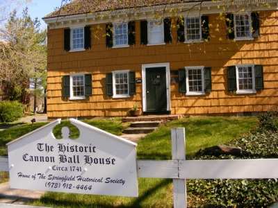 Cannon Ball House, see, it says so right there.