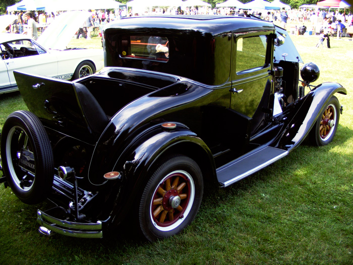 1930 Chrysler Imperial 77 or 70? I think. Whatever, it's a roadster with a rumble seat.