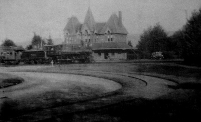 Netherwood Station, original Victorian splendor, date unknown