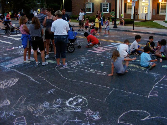 Chalk on South Street!