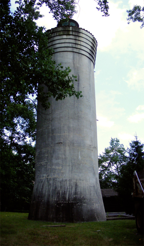 The Stucco Tower of Millburn!