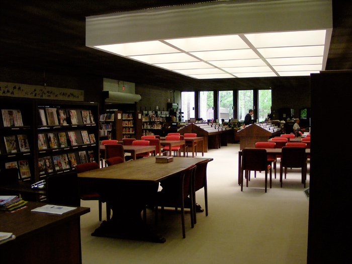 Inside the Madison Library