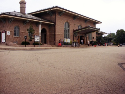 Current Morristown station, 2012.
