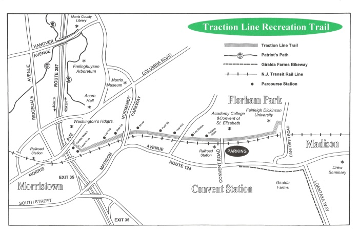 Traction Line map, via Morrisparks.net