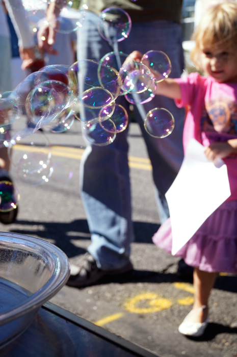 Everyone loves bubbles!