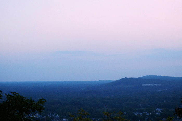 View from Washington Rock, Watchung Mountains, New Jersey