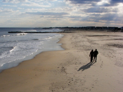 Ocean Grove, looking north, January 2012