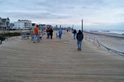 Ocean Grove boardwalk, after