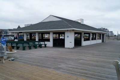 Ocean Grove pavilion, before