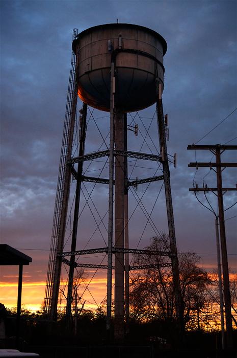 Allenhurst water tower, thassall