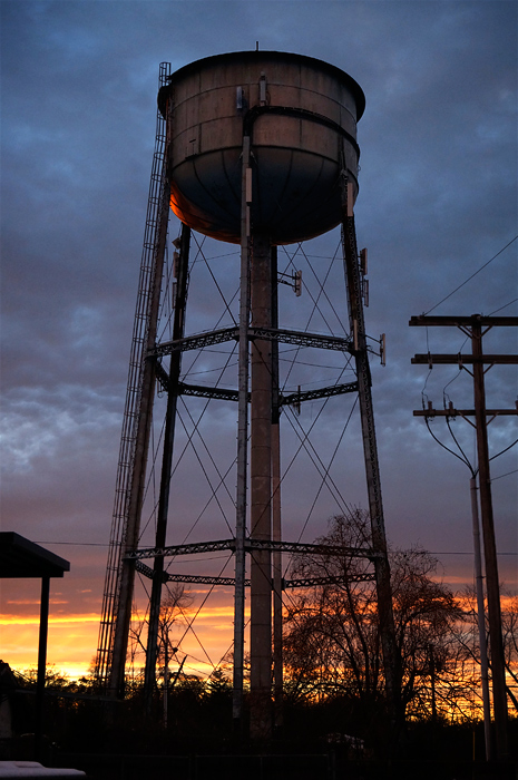 Allenhurst water tower, thassall