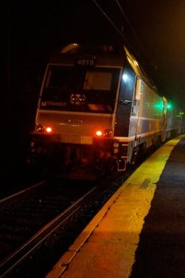 Goodbye first Gladstone train!