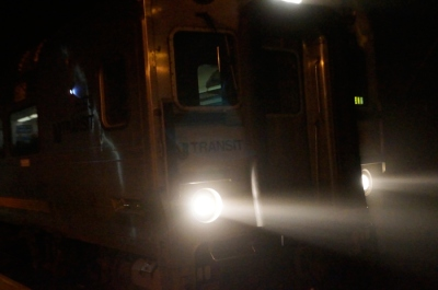 Hello first Gladstone train!