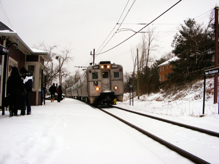 Snow! Trains! New Providence!
