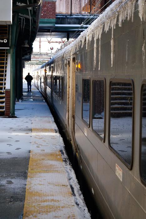 Waitin' for the trains to start running again, doot doo doo