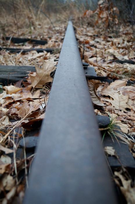 A rail, wheee