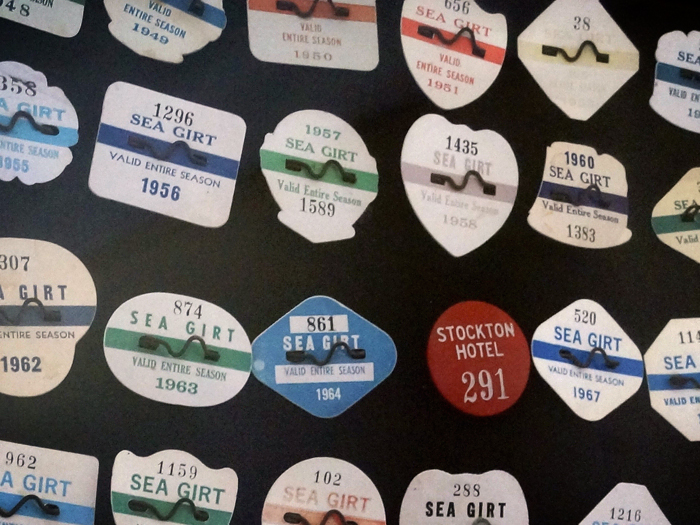 Beach badges, Sea Girt