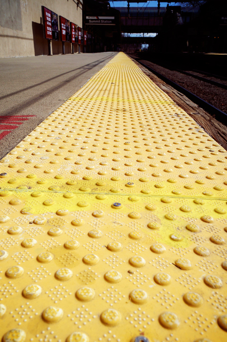Follow the yellow line!