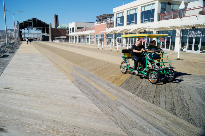 New boards on the boardwalk!